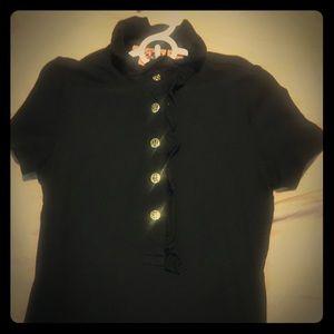 Tory Burch black blouse - size XS